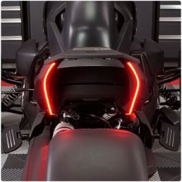 TricLED Underseat Run, Brake & Turn Signal LED Rear Accent Strips for the Can-Am Ryker