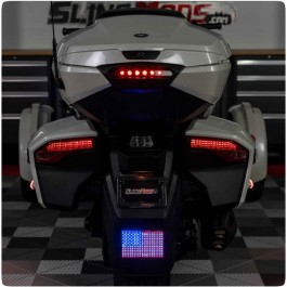 "4"" x 6"" LED American Flag Kit for the Can-Am Spyder F3T / F3 Limited (2016+)"