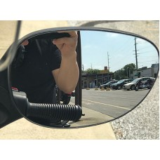 TricLED Peel & Stick Convex Side View Mirrors for the Can-Am Spyder F3 / F3S / GS / RS (Pair)