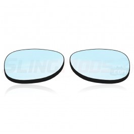 Peel & Stick Wide-Vu Convex Side View Mirrors for the Can-Am Spyder F3 / F3S / RS / GS (Pair)