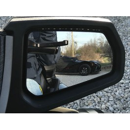 TricLED Peel & Stick Convex Side View Mirrors for the Can-Am Spyder RT (Pair)