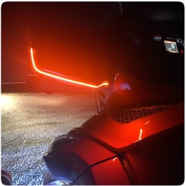 SideViz LED Side View Mirror Running Light / Turn Signal Indicator for the Can-Am Spyder RT (Pair)