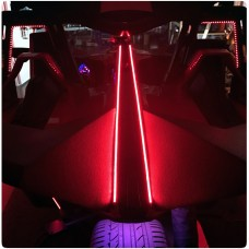 TricLED Rear Tail Fin LED Running Light / Brake Light Strips for the Polaris Slingshot (Pair)