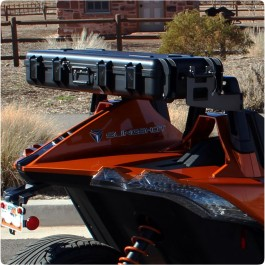 Trike Trunks Saddlebag Luggage System for the Polaris Slingshot