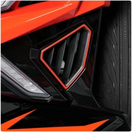 Tufskinz Front End Side Vent Trim Kit for the Polaris Slingshot (2020+) (Set of 2)