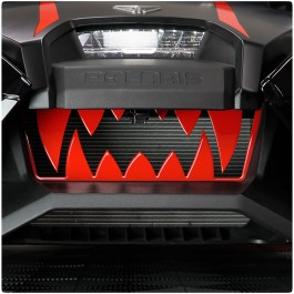Tufskinz Colored Front Teeth Grille for the Polaris Slingshot (2020+)