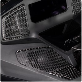 TufSkinz Peel & Stick Front Speaker Grille Accent Kit for the Can-Am Spyder RT (6 Piece Kit) (2020+)