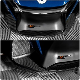 Tufskinz Peel & Stick Front Cowl Inner Accent Kit for the Can-Am Spyder RT (3 Piece Kit) (2020+)