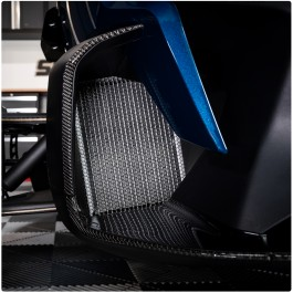 Tufskinz Peel & Stick Front Cowl Outer Accent Trim Kit for the Can-Am Spyder RT (5 Piece Kit) (2020+)