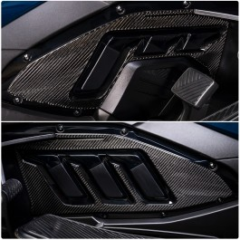 Tufskinz Peel & Stick Side Engine Cover Accent Kit for the Can-Am Spyder RT (2020+) (2 Piece Kit)