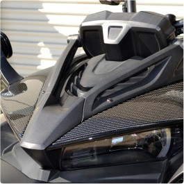 Tufskinz Peel & Stick Upper Front Fairing Accent Kit for the Can-Am Spyder F3 / F3S (Pair)