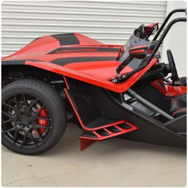 TufSkinz Peel & Stick Front Fender Flare Accent Kit for the Polaris Slingshot (14 Pieces) (2015-16)