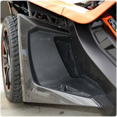 TufSkinz Peel & Stick Front Fender Flare Accent Kit for the Polaris Slingshot (14 Pieces) (2017)