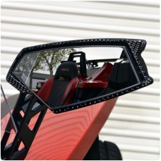 TufSkinz Peel & Stick Side View Mirror Trim Kit for the Polaris Slingshot (Pair)