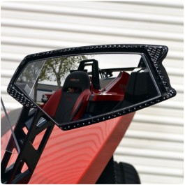 TufSkinz Peel & Stick Side View Mirror Trim Kit for the Polaris Slingshot (Pair)