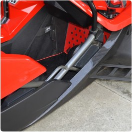 TufSkinz Peel & Stick Colored Entry Sill Trim Kit for the Polaris Slingshot (Pair)