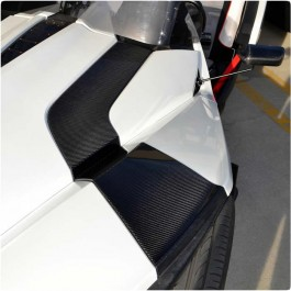 TufSkinz Peel & Stick Hood Panel Accent Kit for the Polaris Slingshot (8 Pieces)