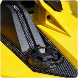 TufSkinz Peel & Stick Rear Deck Hump Trim Kit for the Polaris Slingshot (Pair)