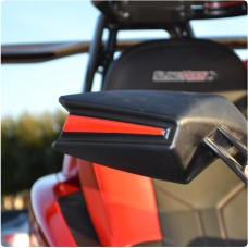 TufSkinz Peel & Stick Side View Mirror Accent Trim for the Polaris Slingshot (Pair)