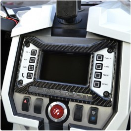 Tufskinz Peel & Stick Radio Bezel Accent Trim Piece for the Polaris Slingshot (2015-17)