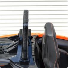 TufSkinz Peel & Stick Roll Bar Accent Strips for the Polaris Slingshot (Pair) (2017)