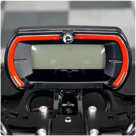 Tufskinz Peel & Stick Gauge Bezel Trim Kit for the Can-Am Ryker (2 Piece Kit)