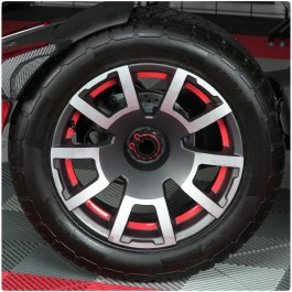 Tufskinz Peel & Stick Inner Wheel Trim Kit for the Can-Am Ryker Rally (30 Piece Kit)