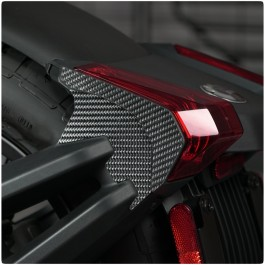 Tufskinz Peel & Stick TailLight Side Accent Trim Kit for the Can-Am Ryker (4 Piece Kit)