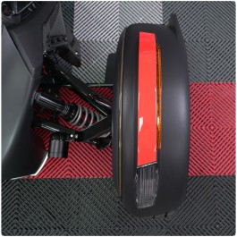 Tufskinz Peel & Stick Top Side Front Fender Accent Strips for the Can-Am Ryker (2 Piece Kit)