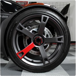 Tufskinz Peel & Stick Wheel Spoke Accent Kit for the Can-Am Ryker (3 Piece Kit)