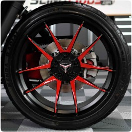 TufSkinz Peel & Stick Wheel Spoke Accent Kit for the Polaris Slingshot SLR (2017-19) & R (2020+)