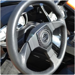 TufSkinz Peel & Stick SLR Sparco Steering Wheel Accent Kit for the Polaris Slingshot (2017-19 SLR Only)