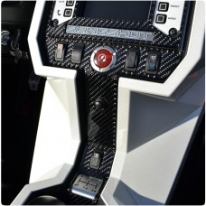 TufSkinz Peel & Stick Colored Accent Center Switch Panel Trim for the Polaris Slingshot