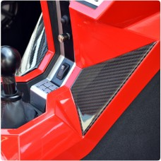 TufSkinz Peel & Stick Center Console Accent Kit for the Polaris Slingshot (Pair)