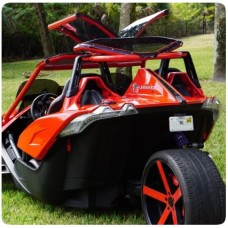 Twist Dynamics Gull Wing Roof Top for the Polaris Slingshot