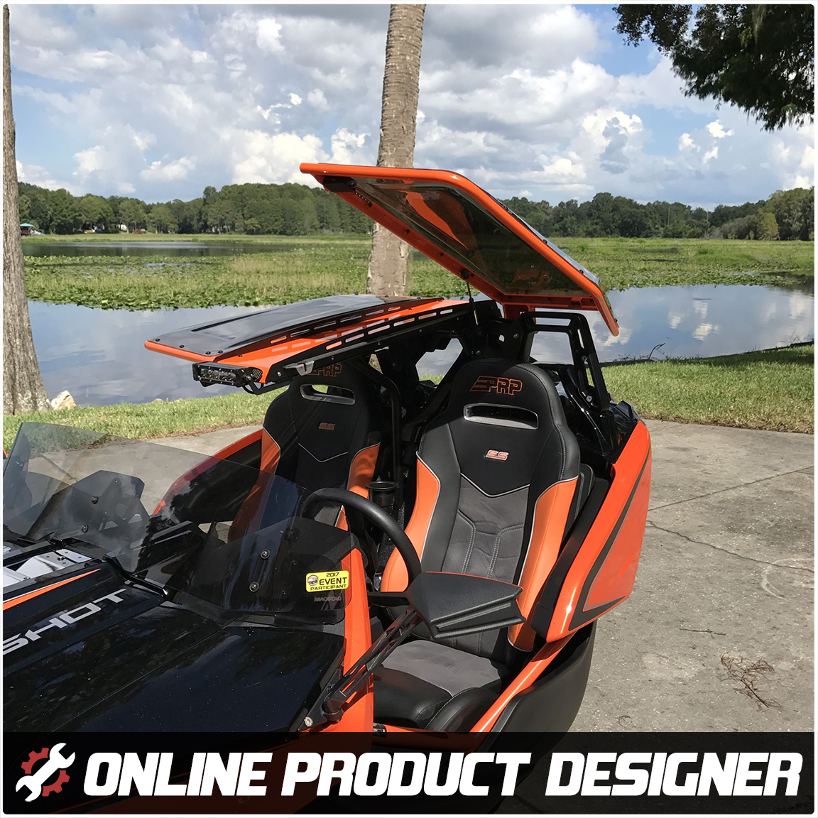 Polaris Slingshot Stinger Roof Top By Twist Dynamics