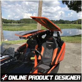 Twist Dynamics Stinger Roof Top for the Polaris Slingshot - DISCONTINUED