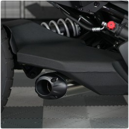 Two Brothers Racing S1R Stainless Steel Slip-On Exhaust System for the Can-Am Ryker
