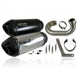 Two Brothers Racing Stainless Steel Cat Back Exhaust System for the Polaris Slingshot