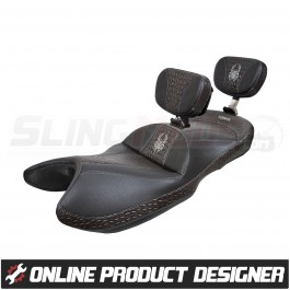 Ultimate Seats Online Custom Seat Builder for the Can Am Spyder GS / RS