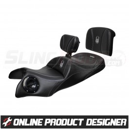 Ultimate Seats Online Custom Seat Builder for the Can-Am Spyder RT (2020+)