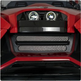 UnderGround Auto Styling Front End Fiberglass Center Grille for the Polaris Slingshot
