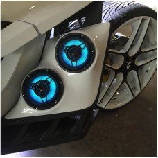 UnderGround Auto Styling Front Fender Speaker Pods for the Polaris Slingshot (Pair)