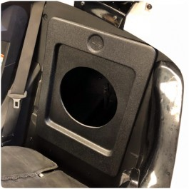 UnderGround Auto Styling Rear Storage Compartment Subwoofer Baffle Plate for the Polaris Slingshot