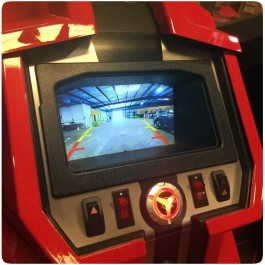 "UAS In-Dash 7"" Waterproof Video Monitor for the Polaris Slingshot (2015-17)"