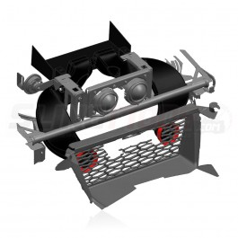 VelossaTech Big Mouth Twin Ram Air Inlet System for the Polaris Slingshot