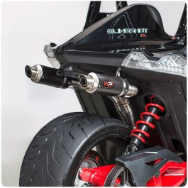 "Welter Performance ""Dual"" Series Rear Exit Exhaust System for the Polaris Slingshot"