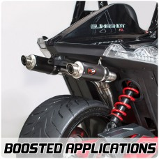 Welter Turbo / Supercharged Compatible Dual Exhaust System for the Polaris Slingshot