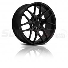 """Motiv Magellan Matte Black 18""""/ 20"""" Wheel Set for the Polaris Slingshot"""