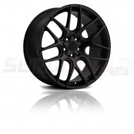 "Motiv Magellan Matte Black 18""/ 20"" Wheel Set for the Polaris Slingshot"